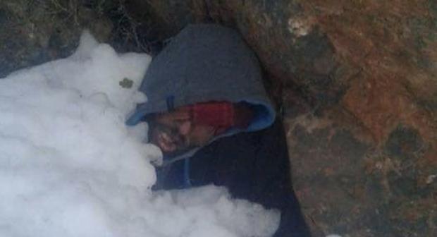 مؤلم بالفيديو: خرج للبحث عن أغنامه فأودت عاصفة ثلجية بحياته