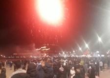 في ليلة البوناني بأكادير: شهب اصطناعية واحتفالات تحت حراسة ألفي عنصر أمني