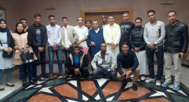 عامل انزكان في لقاء تواصلي مع هيئات مدنية بأزور في ايت ملول