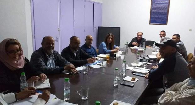 فرع حزب الاتحاد الاشتراكي بأكادير يوزع مهام أعضائه