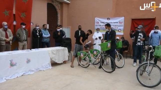 بالفيديو: جمعية مفتاح الخير توزع أزيد من 200 دراجة هوائية للحد من الهدر المدرسي