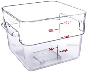 sous vide containers