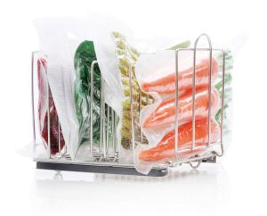 Everie Weighted Sous Vide Rack side shot