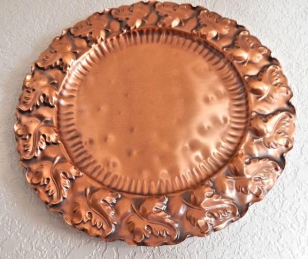 copper plate