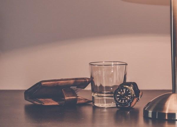 wallet&glass