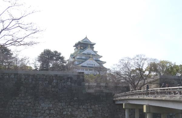大阪城 2018.3