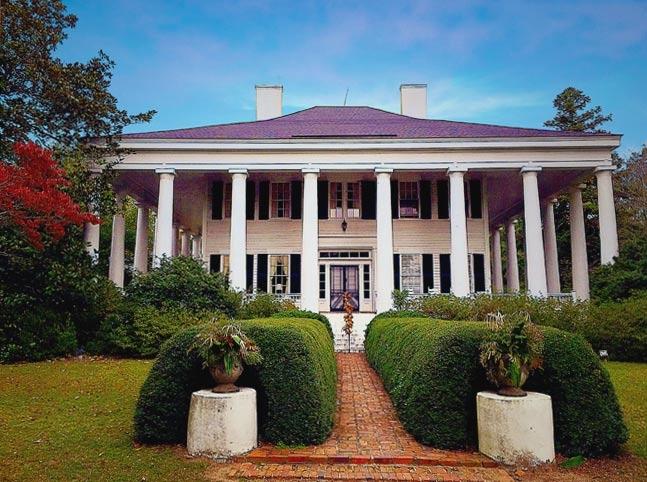 Cotton Plantations House