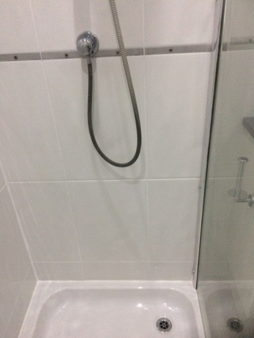 Ceramic Tiled Shower Grout After Restoration Walshaw