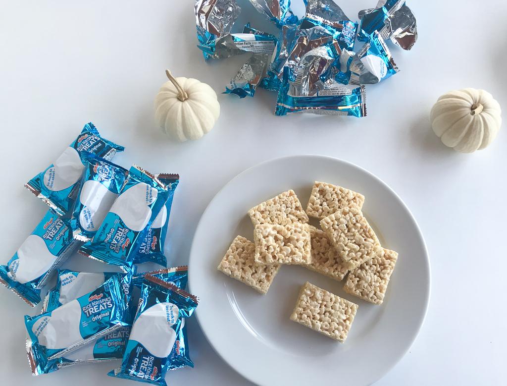 Halloween Dessert Spider Web Rice Krispie Treats 3 - South ...