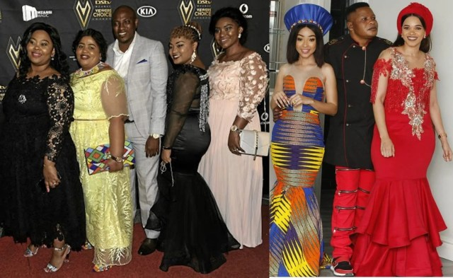 Musa and Lucky with their wives