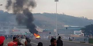 Durban-protest-violence