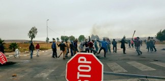 Vlakfontein-protesters