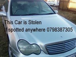 Silver-Mercedes-c240-Hijacked-at-Kaalfontein-Tembisa