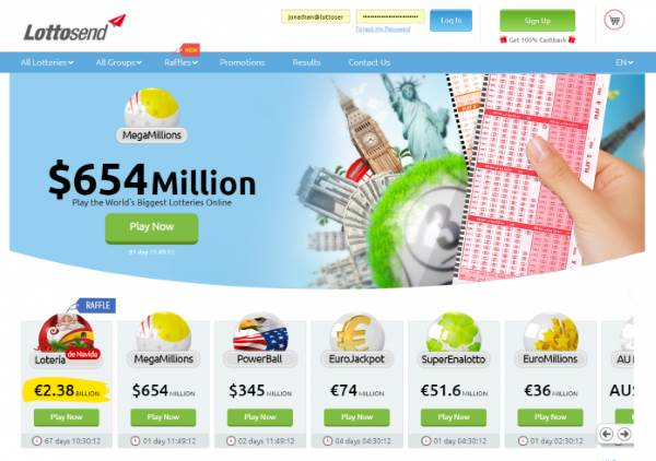 Opportunity for International Players to Win $654 Million MegaMillions Jackpot With Lottosend