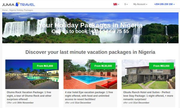 Jumia Travel Launches Holiday Packages to Foster Universal Accessibility - Image - Jumia Travel