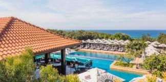Newly renovated beach Café and bar at Fairmont Zimbali Resort