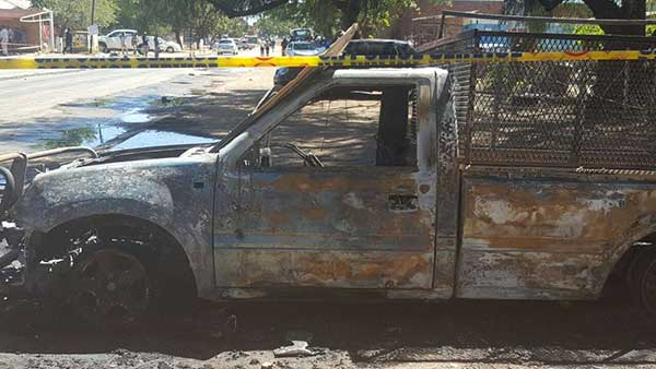 Manhunt for suspects involved in the public violence. Photo: SAPS
