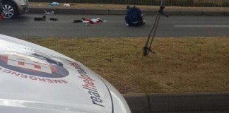 Shooting, one critical and two others injured, Greenstone Hill. Photo : Arrive Alive