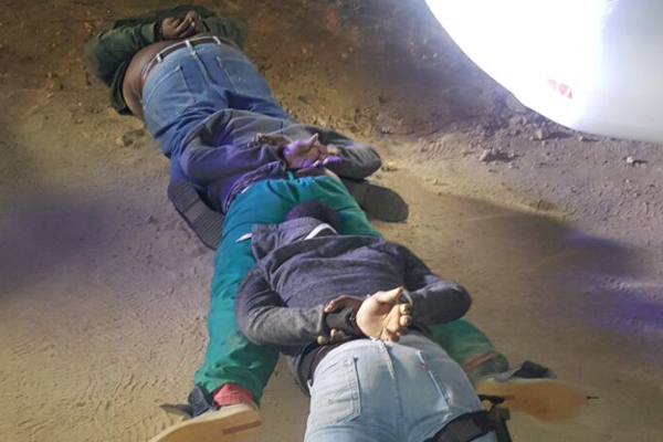 Trio crime gang intercepted, robbery foiled, one dead. Photo : SAPS