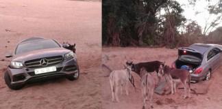 Vehicle recovered before being smuggled to Zimbabwe. Photo: SAPS