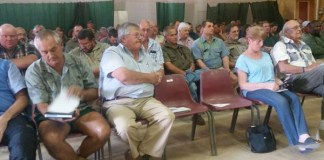 Outreach program on rural safety, farms and smallholdings. Photo: SAPS