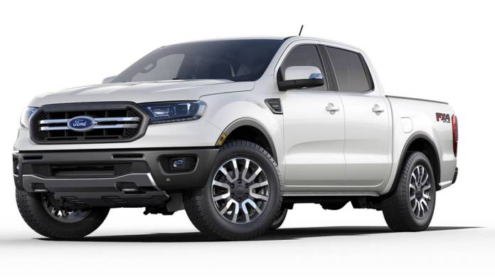 The All-New Ford Ranger 2019 makes use of Radar Technology for Easier Towing