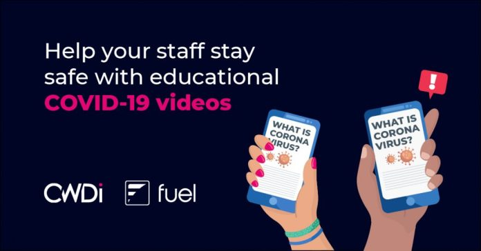 CWDi introduces a COVID-19 support video training solution in partnership with FUEL