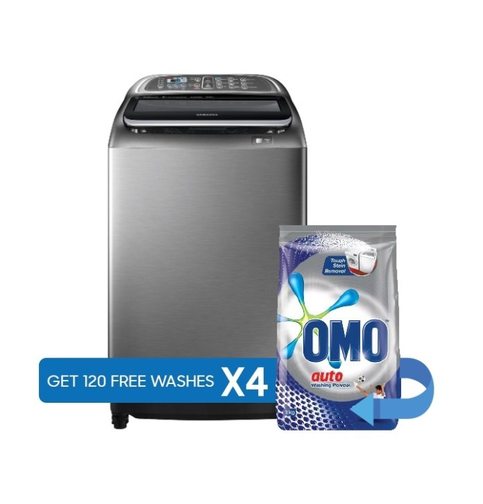 Samsung Wash Days campaign, powered by OMO