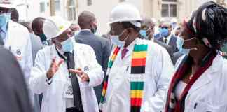 President Tours PPC Harare Factory