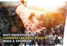 Why investors in commercial real estate need a sponsor