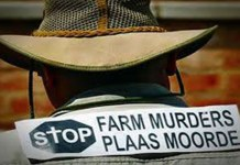 During 2020, a farmer was murdered every 4.7 days in South Africa