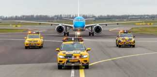 KLM Royal Dutch Airlines announces new modern and sustainable addition to the fleet as first KLM Cityhopper Embraer 195-E2 touches down at Schiphol