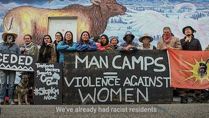 Anti-violence against women protest. Photo credit: Sacred Earth Solar