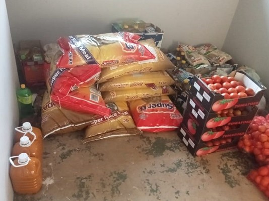 Food parcels distributed in Tzaneen
