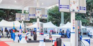 The new Engen FS Kauka in Kinshasa