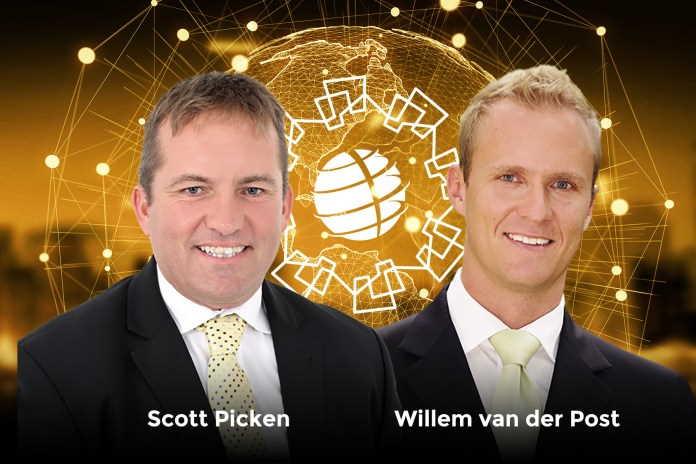 Scott Picken and Willem van der Post