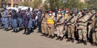 Kimberley CBD operation yields results. Photo: SAPS