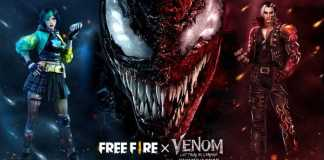 Experience utter chaos with the Free Fire x Venom