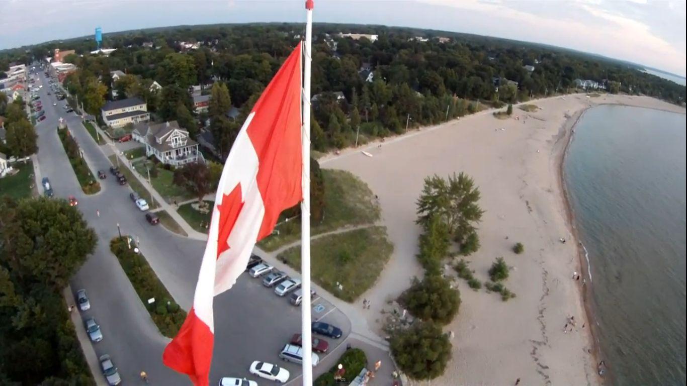 Southampton Ontario Real Estate Flag