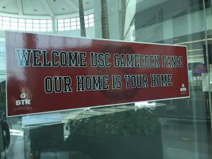 airport welcome sign Judi Gatson