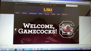 welcome gamecocks