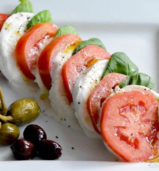 Klassieke-caprese-salade