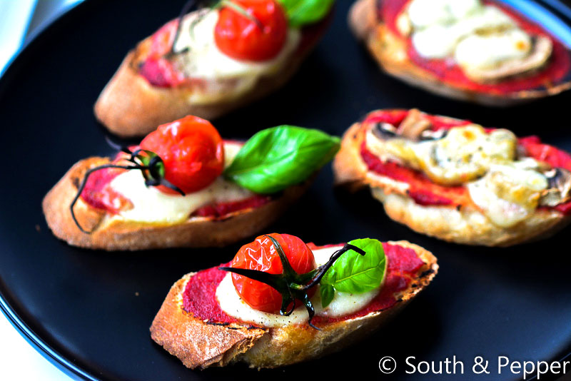 Snelle mini-pizzabroodjes
