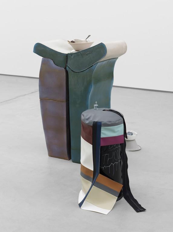 11 Helen Marten, A.M. Stew, 2014, Oreo St. James, Sadie Coles