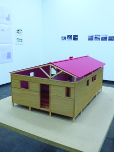 Martí Anson, Model of Summer house in Paris - Catalan Pavilion - Anonymous architect, 2013