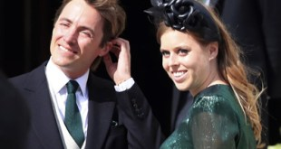 Princess Beatrice marries in a private ceremony at Windsor
