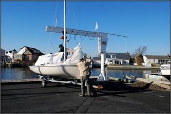 Babylon Yacht Club Flying Scott Frostbite