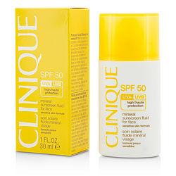 Mineral Sunscreen Fluid For Face SPF 50 - Sensitive Skin Formula --30ml/1oz