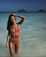 Vitamin A Eco Fire Coral Neutra Bralette Bikini   http://bit.ly/2kgNptS
