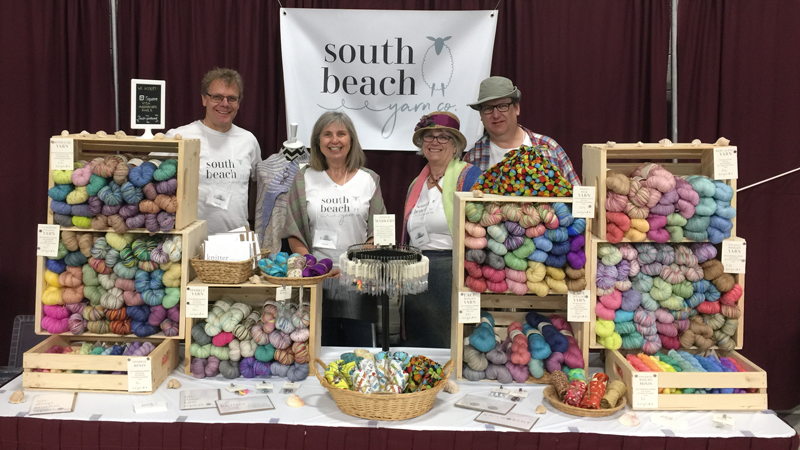South Beach Yarn Co at the Knitter's Fair